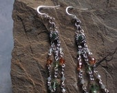 dainty swarovski earrings