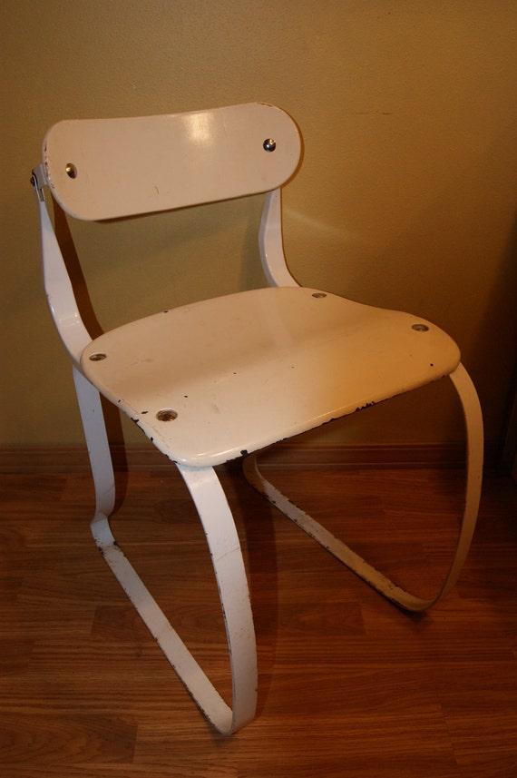 Vintage Ironrite Health Chair, Herman Sperlich Design