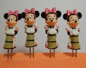 Minnie Mouse Corn on the Cob Holders