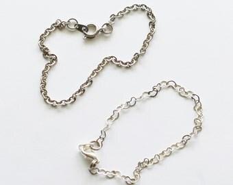 Total Consecration Bracelet - Simple Metal Chain bracelet for Total Consecration to Mary (St. Louis de Montfort Method)