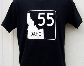 BANANA ink Idaho Highway 55 Tee