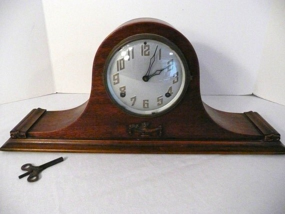 Antique E Ingraham Company 8 Day Amp Time By Vintagetoremember