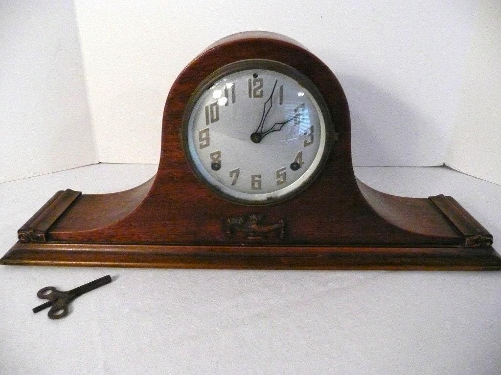 Antique E Ingraham Company 8 Day Amp Time By Vintagetoremember