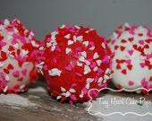 Heart Cake Pops