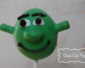 Shrek Cake Pops