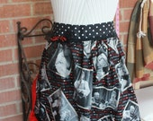 "I Love Lucy "" Best Friends"" Apron with red petticoat"