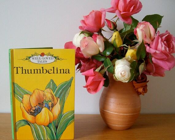 Thumbelina, Ladybird book, Thumbelina book, Vintage Ladybird book, Fairy tale book, Well loved tales