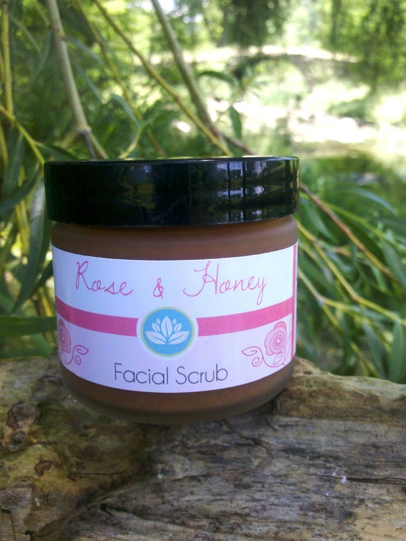 Organic Face Wash with Rose and Raw Honey