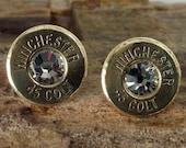 Glacier - Winchester Colt 45 - Ultra Thin - Bullet Earrings