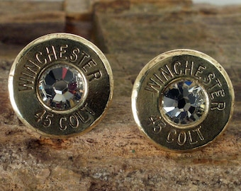 Glacier - Winchester Colt 45 - Ultra Thin - Bullet Earrings
