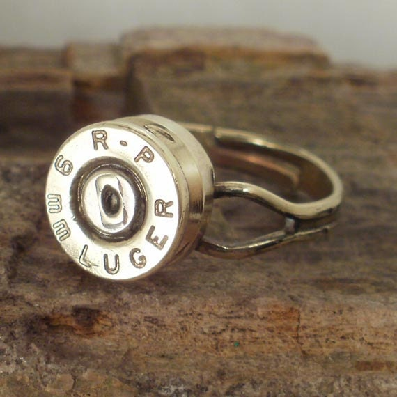 Bullet Ring -  9mm Luger