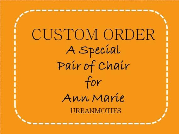 DESIGN YOUR OWN - Custom for Ann Marie - Savannah