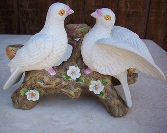 SALE  Ceramic Dove Candle Holder  ~  Dove Candle Holder