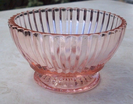 Queen Mary Depression Glass Sherbert  Dish