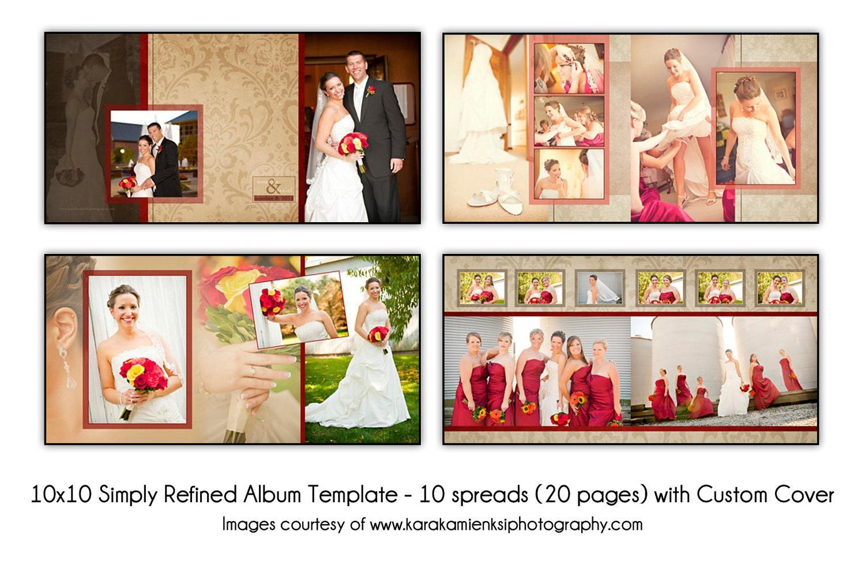 Wedding Photo Album Templates. 107 PSD Wedding Templates,Photo ...