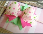 Pink Bubbles Bow