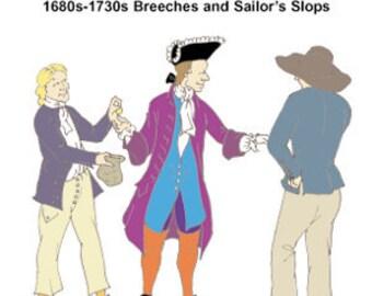 1670s-1730s Breeches & Slops Pattern