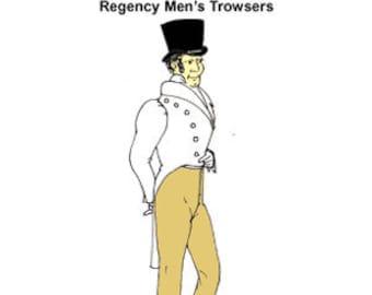 Regency Trowsers Pattern