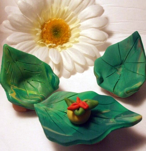 Fairy furniture polymer clay