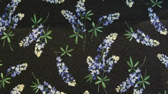Keepsake Quilting Cotton Fabric Bluebonnets