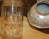 Atlas Mason Jar and canning funnel