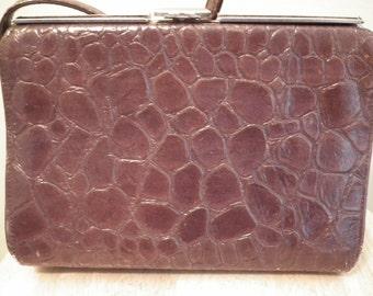 Vintage Faux  Alligator purse
