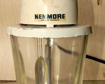 Vintage Kenmore 3 cup Mixer