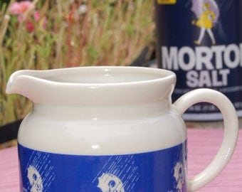 Antique Morton's Salt Creamer
