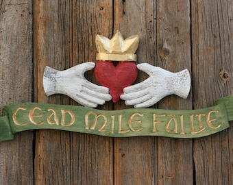CEAD MILE FAILTE Wall Sign**