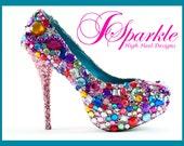 Skittle Custom High Heel Pump Designs Part 2