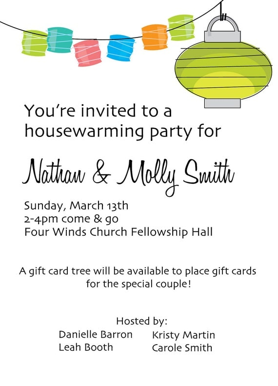 House Warming Invitation Messages with luxury invitations layout