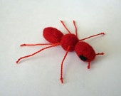 Red Ant - wool catnip toy