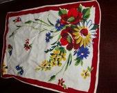 Vintage Flowered Placemats (set of 6)