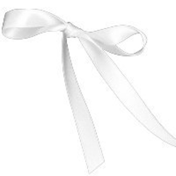 100 yards single faced white satin ribbon 3/8 inches wide.