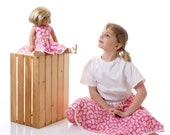 American Girl/18 inch Doll and Girl Matching Clothes - Summer Daisies