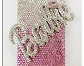 iPhone 4 or 4S Bling Barbie Pink Case