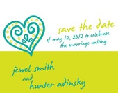 Fully Customizable Save the Date