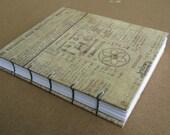 Handmade Coptic Bound Blank Book