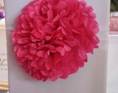 Set of 20 chair pom poms from UK - Any Colour
