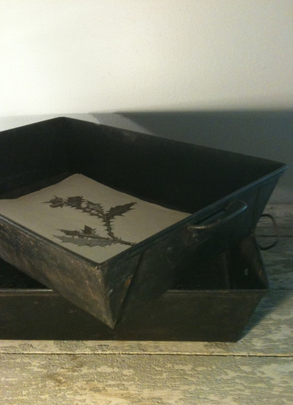 Reserved  //  Pair of Large Baking Pan Trays