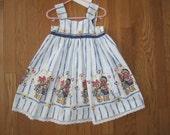 Daisy Kingdom One Of A Kind Child Toddler Dress Sz. 4