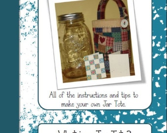Jar Tote - The Pattern Packet PDF