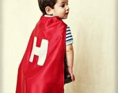 Reversible Superhero Cape - Add Your Child's Initial - Choose Your Colors - Personalized Costume for Boy or Girl