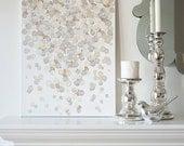 16x20 Canvas Painting- Confetti: Metallic