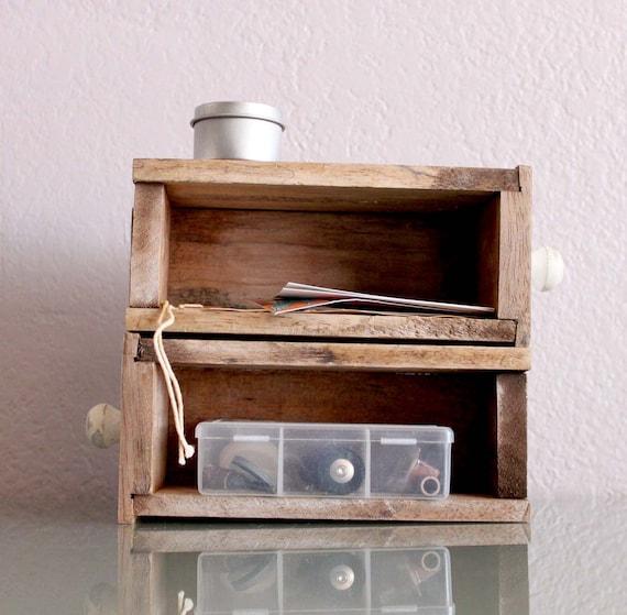 Mini Wood Drawer
