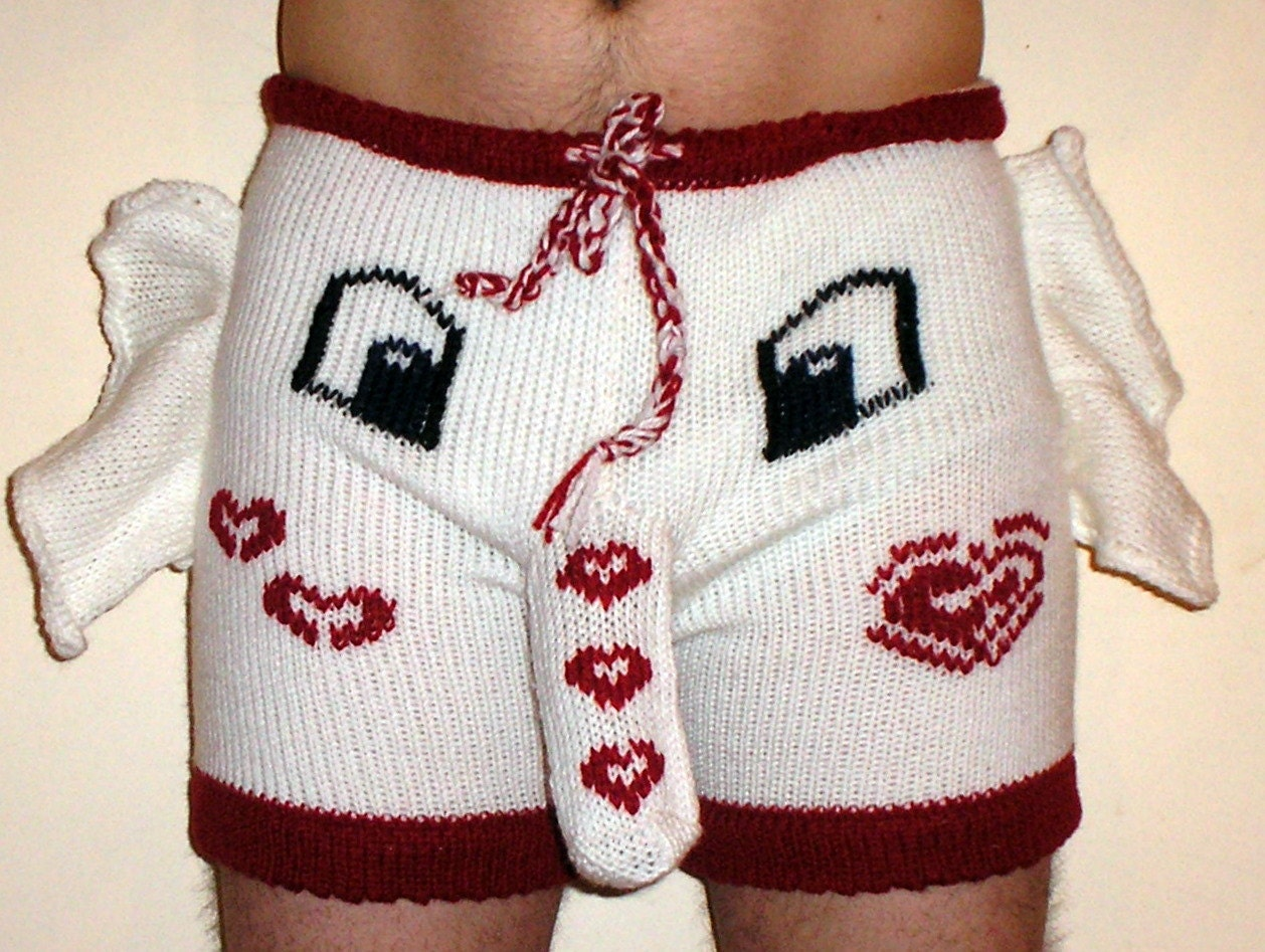 Shorts Sweater Trousers Socks Handmade White by warmpresents