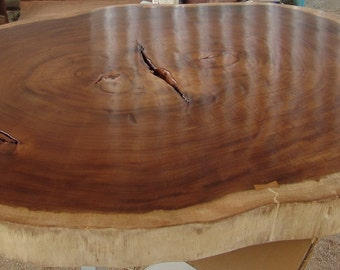Live Edge Dining Or Large Coffee Table Reclaimed Acacia Wood Rare Large Solid Slab