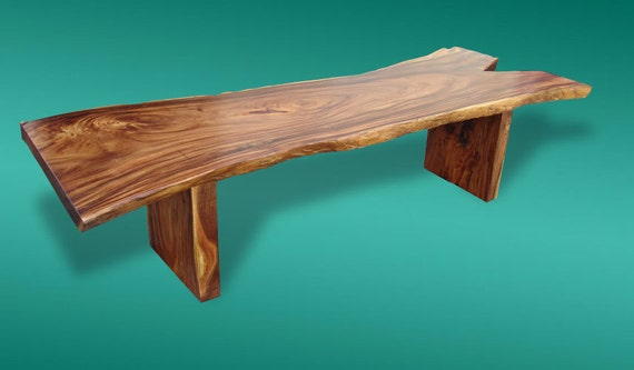 Live Edge Dining Table Acacia Wood Live Edge Reclaimed Solid Slab 10 Seater Extremely Rare