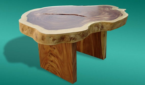 Live Edge Dining Table Reclaimed Acacia Wood Rare Solid Slab