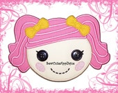 Berry Jars 'N' Jam Lalaloopsy No Sew Applique Patch